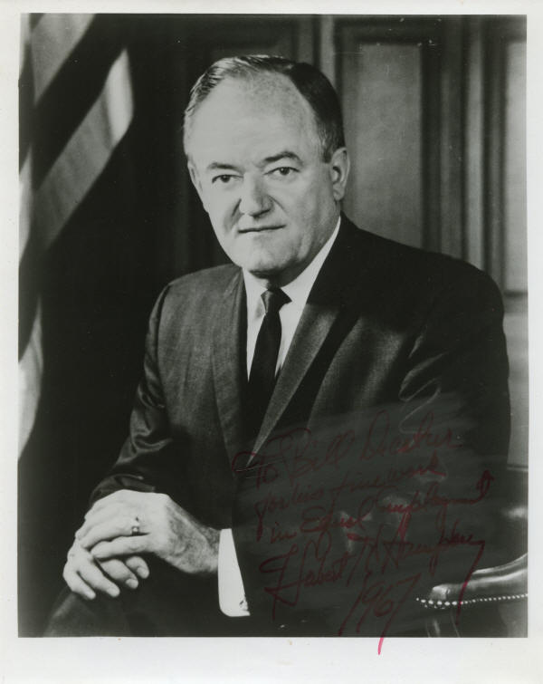 hubert h humphrey Brings motivated professionals from developing countries to the us for non-degree graduate-level study, leadership development, and professional collaboration with u.