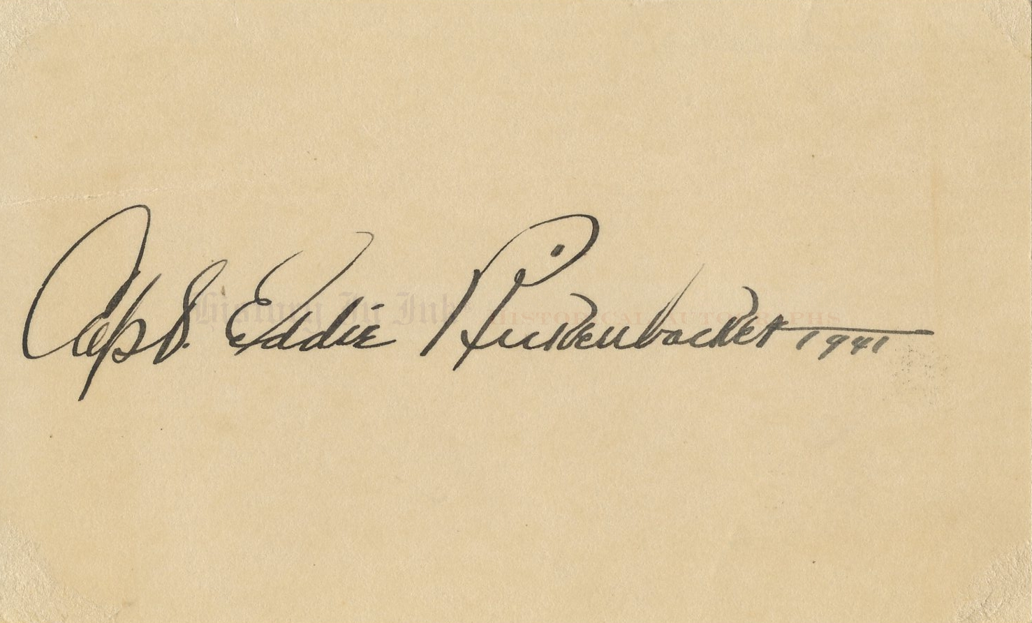 eddie rickenbacker autograph 1431595 beautiful