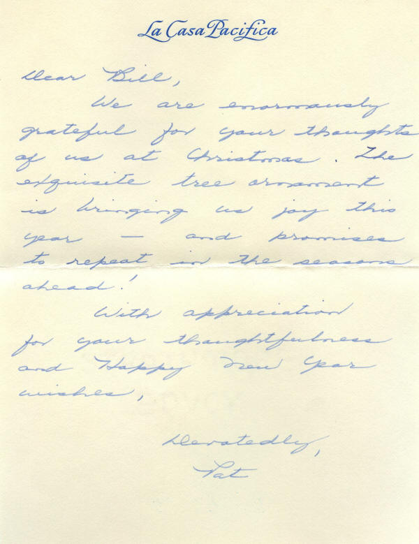 Autograph - 903319 - Rare autograph letter signed by First